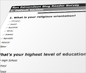 Results of Blog Survey